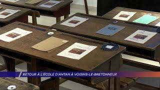 Yvelines | Retour à l'école d'antan à Voisins-le-Bretonneux