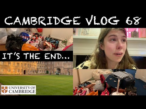 CAMBRIDGE VLOG 68: goodbye Cambridge (I left uni for the last time and cried a lot)