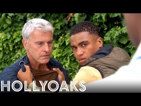 Hollyoaks: Mac Pushes Hunter to the Edge