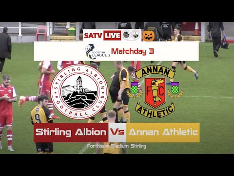 Stirling Annan Athletic Goals And Highlights