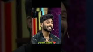 Ashwin Shivangi Cute Expressions ❤️