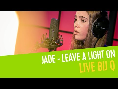 Jade De Rijcke - Leave a Light On (cover) | Live bij Q