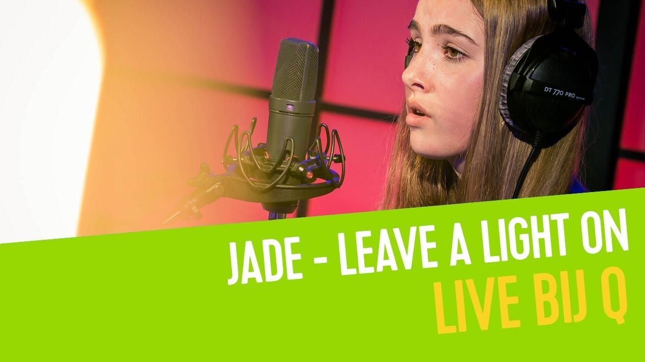 Jade De Rijcke - Leave a Light On (cover)   Live bij Q