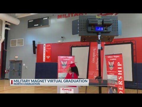 Military Magnet Academy prepares for their virtual graduation