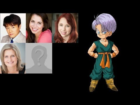 Anime Voice Comparison- Kid Trunks (Dragon Ball Z)