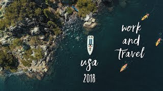 Work And Travel USA 2018   From West To East   A Couples Journey