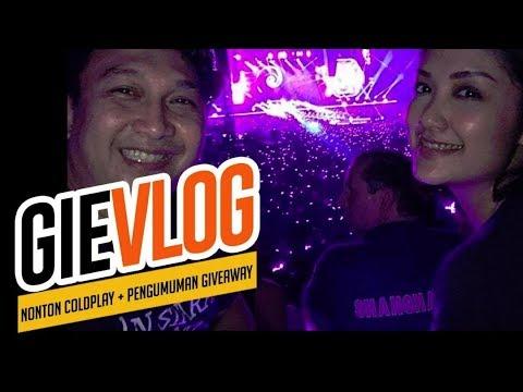GIEVLOG #47 Nonton COLDPLAY di Bangkok + Pengumuman GIVEAWAY!!