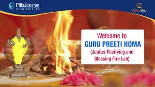Guru Preeti Homa - Jupiter Pacifying and Blessing Fire Lab