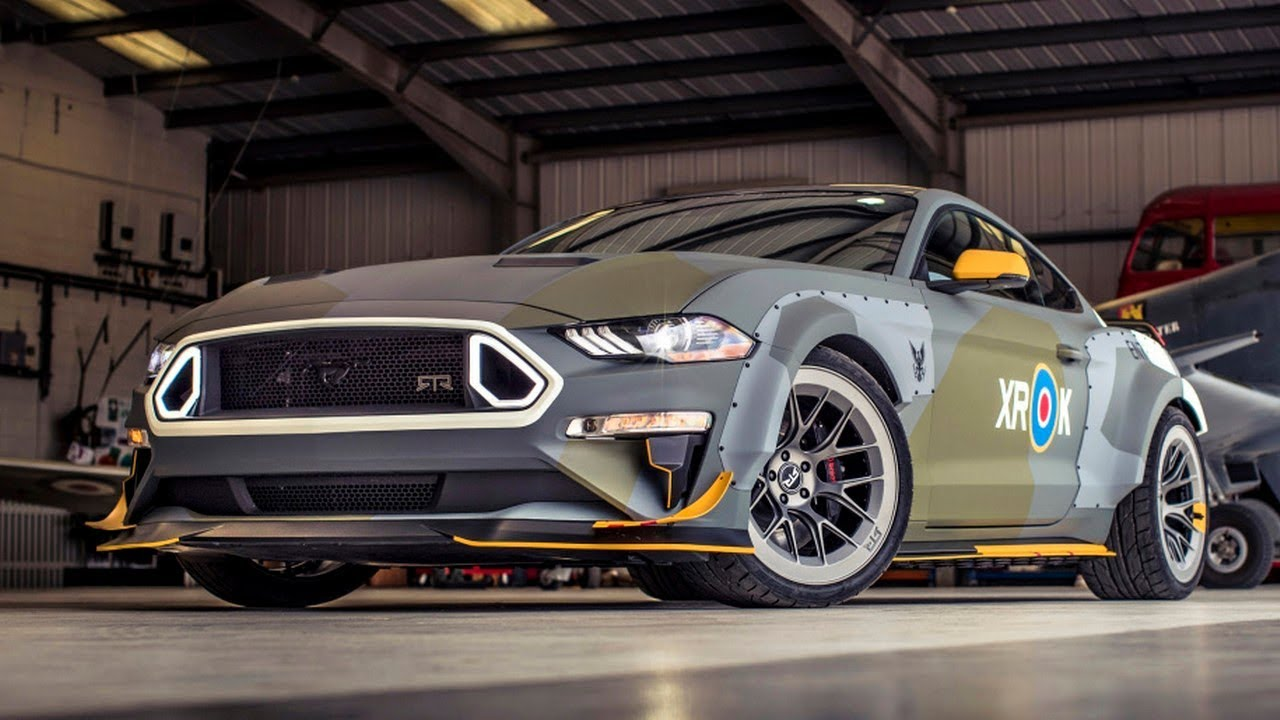 This Spitfire Inspired Mustang Gt Has  Hp Extreme Awesomeness Autotrend