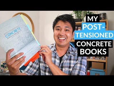 Best Post-Tensioned (PT) Concrete Design Books