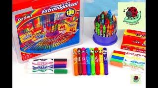 KIDS ART SET | Cra-Z-Art Ultimate Extravaganza Art & Learning | itsplaytime612