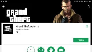 GTA: IV For Android   2018   Release date   Full Detail  