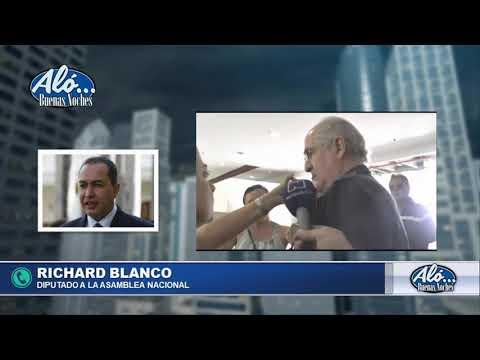 """.@RichardBlancoOf """"Nunca pensé que Antonio se iba a ir"""". Aló Buenas Noches. Seg. 4"""