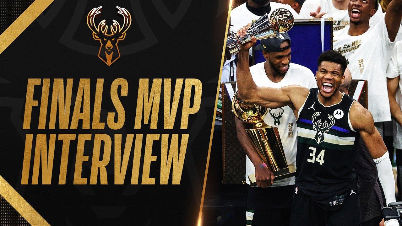 Giannis Antetokounmpo Wins NBA FINALS MVP in HISTORIC FASHION! 🏆😎
