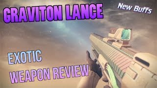 Graviton Lance New Changes! Exotic Weapon PVP Gameplay Review - Destiny 2 Warmind DLC