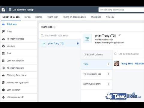 Cách xóa trình quản lý doanh nghiệp trên facebook