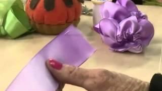 Caixa com Bordado Rosa – Zilda Mateus