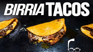 CHEESY JUICY BEEFY BIRRIA TACOS, WOW! | SAM THE COOKING GUY 4K