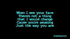 Bruno Mars - Just The Way You Are lyrics [HD]