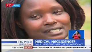 Medical Negligence? Kikuyu hospital on spot, patient still in coma