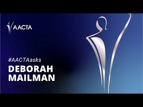 AACTAasks with Deborah Mailman