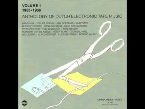 Ton de Leeuw - Study, 1957 (Anthology of Dutch Electronic Tape Music)