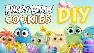 Angry Birds DIY | EGG-FREE Easter Hatchling COOKIES!