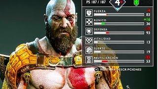GOD OF WAR 4 - Kratos Armor & Progression Trailer (2018) PS4