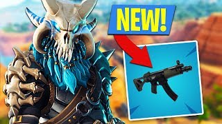 New Fortnite Update SUBMACHINE GUN Gameplay! (Fortnite Battle Royale)