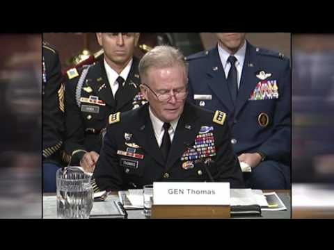 Socom Commander, Assistant Defense Secretary Testify at SASC