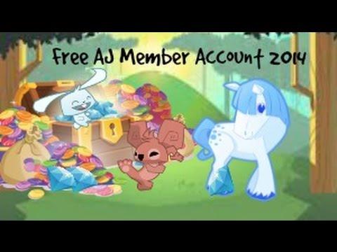 Animal Jam FREE MEMBER account 2014 - YouTube
