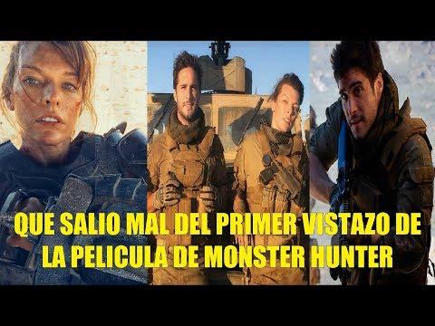 Que Salio Mal del Primer Vistazo de la Película de Monster Hunter Milla lo Hace de Nuevo! thumbnail