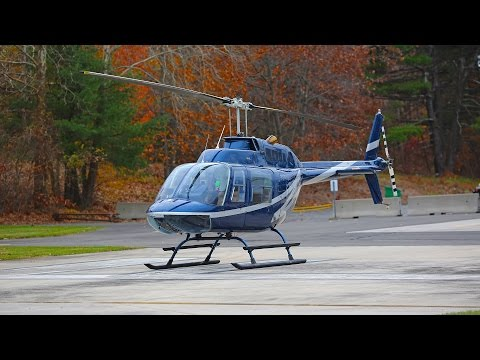 Bell 206 JetRanger helicopter review + how to fly a helicopt