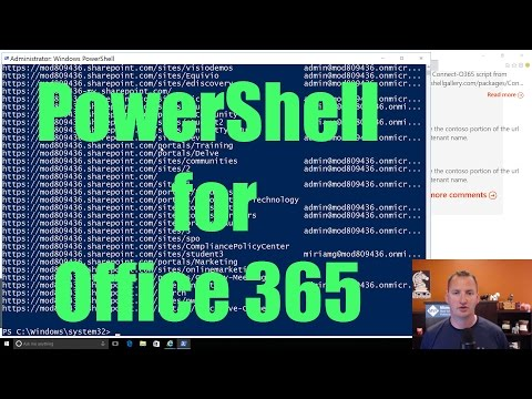 Install and Configure PowerShell for Office 365