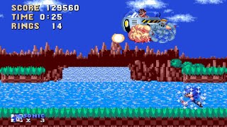[TAS] Sonic Movie in Sonic 1 - First Zone in 2:08.68 (No Zips)