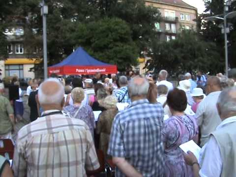 Marsz, marsz Polonia - Śpiewnik Polski - Szczecin 2014