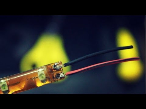 Как сделать и подключить подсветку из светодиодной ленты  к 220 V