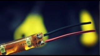 видео светодиодная лента 220в подключение