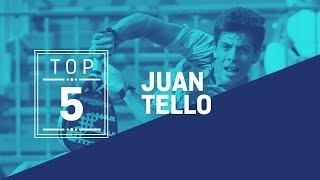 #Top5 Puntazos Juan Tello 2019 - World Padel Tour