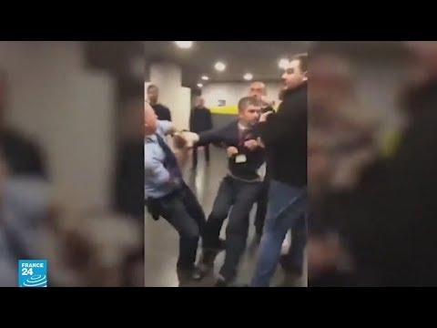 صدمة في المجر بعد عرض فيديو يظهر طرد نائبين معارضين من التلفزيون الرسمي  - نشر قبل 6 ساعة