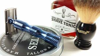 Weekend Shave w/ATT S1, Plisson, Cold River Soap Works & Derby City Chop Shop
