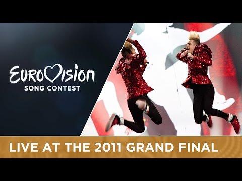 Jedward - Lipstick (Ireland) Live 2011 Eurovision Song Contest