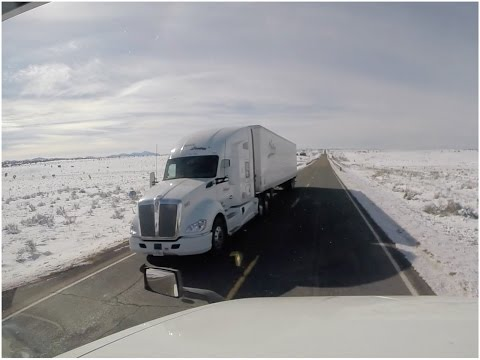 Interior do New Mexico com Neve - Vlog18rodas - EP04/16