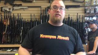 Kampus at Airsoft depot buying upgrade parts for the Tippmann