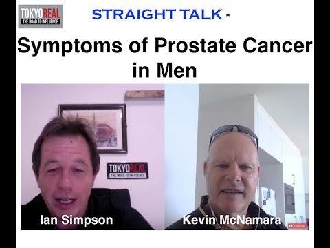 Symptoms of Prostate Cancer in Men – Straight Talk – Tokyo Real