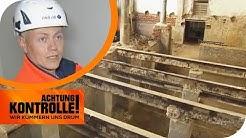 Katastrophale Baustelle: Lebensgefahr durch fehlenden Arbeitsschutz | Achtung Kontrolle | kabel eins