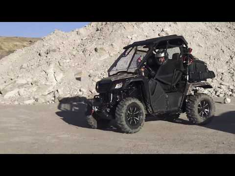 Honda Pioneer 500, trail ready will all the accessories first use, Part 2