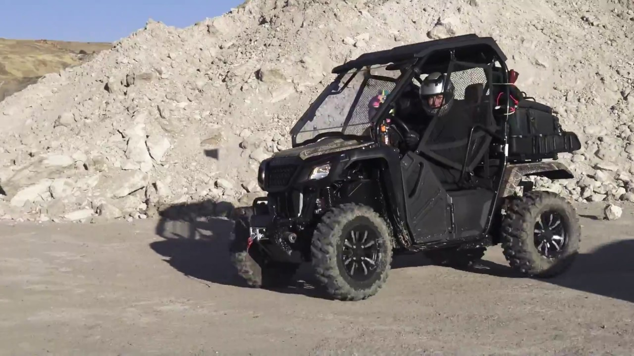 Honda Pioneer 500 Trail Ready Will All The Accessories First Use Part 2