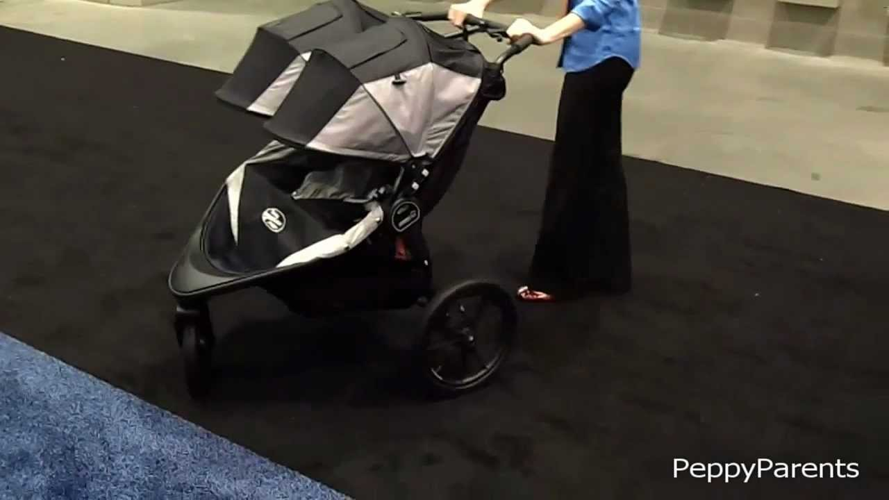 Baby Jogger Summit X3 Double Jogging Stroller 2013