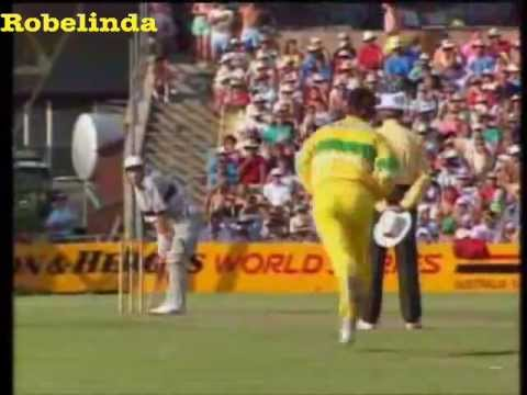 *RARE* MARK WAUGH - EVERY WICKET IN ONE DAY INTERNATIONAL CRICKET.....